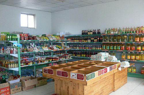 粮油店招商